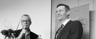 Rasmus Jarlov var gæst i Penge med Per på Investordagen i København